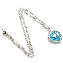 popular girls heart necklace