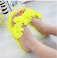 HOT! 2014 new Melissa jelly camellia sandals flip-flops summer shoes flat flat cool beach slippers women size 35-40