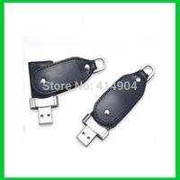 Wholesale 1pcs USB 2.0 leather Model4gb 8GB 16GB 32GB USB Flash Pen Drive Memory Disk Stick USB,Free Shipping
