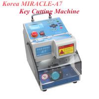 Korea MIRACLE-A7 Key Cutting Machine MIRACLE A7 Full Automatic Electronic Three-axe A7 Key Cutting Machine