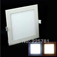 Free shipping DHL/FEDEX 4W square led panel light 20pcs/lot new Ultra thin Downlight L105*W105mm AC90-250V