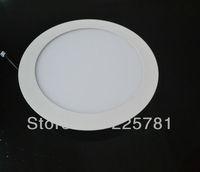 Led round panel light AC85-265V 3pcs / lot New Ultra thin design Downlight free shipping