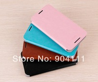 Original MOFI Side Open Flip PU Leather Case For HTC Desire 601 Zara With Retail Package, Free Shipping