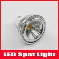 Free Shipping 5PCS/LOT High power 260LM COB Led Lamps Dimmable GU10 3W 100-240V Led Spot Light Spotlight Led Bulb