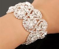 The bride married diamond bracelet joker bracelet Wedding accessories bracelet + green box bag SP - T - 212