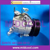 SV07C 447260-5613 4472605613 auto ac air conditioning compressor for Daihatsu Terios Toyota Passo Suzuki Alto