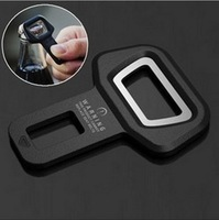 Car safety belt clip Brand New and High quality Car Seat belt buckle Vehicle-mounted Bottle Opener Dual-use Free shipping