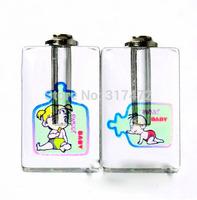 """Free ship! 100pcs/lot """"feeding-bottle children"""" pattern oil perfume pendant vial bottle  rice art pendant screw cap"""