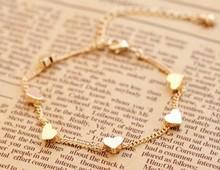 Five-pointed star love Bracelet