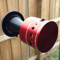 Hot selling vibro speaker 10W   Mini card read mp3 FM radio vibration speaker with remote control sucker  Free/ Drop shipping