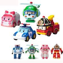 Robocar Poli Robot Car Transformation Toys Boy Girl Gift 4pcs/Lot(China (Mainland))