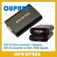 DVI TO VGA Converter, DVI Digital (DVI-D) signal to a VGA signal Adapter