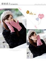 Hot-selling fashion women gloves women's wool gloves winter thermal gloves