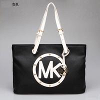 Michaele handbags women korss leather 2014 tote high quality ostrich printing totes bags purses and handbags bolsas femininas