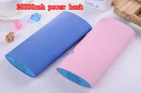 Hot Sales!!! High Capacity Top Grade 20000mAh Power Bank Listed Portable External Backup Battery Charger for iPhone iPad Samsung