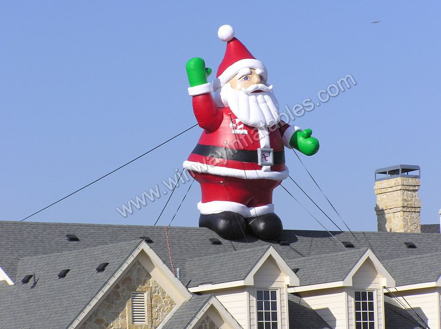 Attractive christmas decoration inflatable santa claus Y6014(China (Mainland))