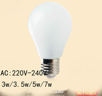 Led Lamp E27 220V 3w 4w 5w 7w   SMD Led Bulb E27 360 Degree White Warm White Energy Saving Led Light Brand Wholesale  New 2014
