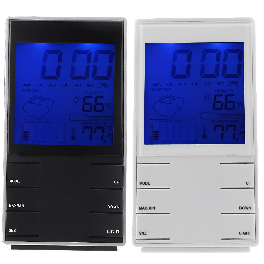Будильник OEM LCD Atmos H10586B/W вольтметр oem lcd