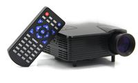 H100 Portable Mini Game Projector LED 80lumen Support TV/AV/VGA/SD/USB/HDMI Interface #161329