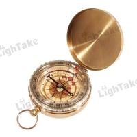Portable Precise Copper Shell Compass