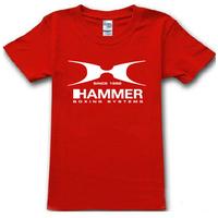2014 summer famous brand hammer boxing system T Shirt cotton sport t-shirt man top tee casual man short sleeve plus size