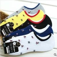 Free shipping20pairs / lot 2014 new design fashion Jacquard mesh cotton men boat socks wholesale