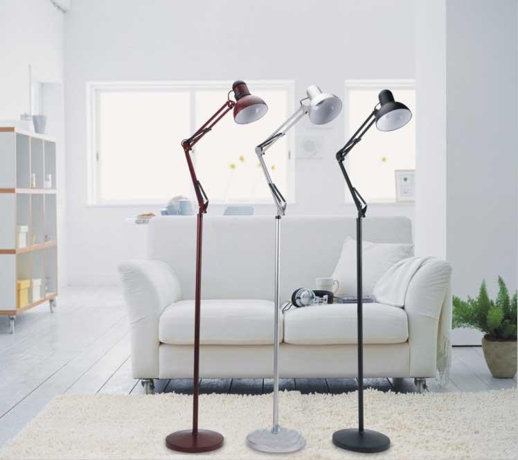 Modern Simple Arm Floor Lamp