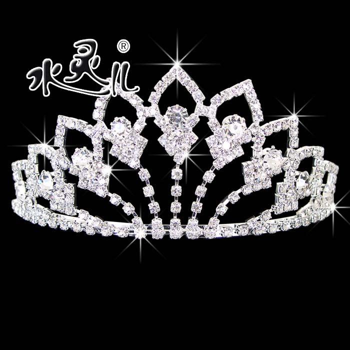 Free shipping fashion hair bands rhinestone wedding accessories the bride hair headwear marriage accessories