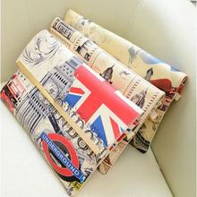 British flag print fashion women envelope clutch bag vintage retro handbags shoulder bags  #L09339(China (Mainland))