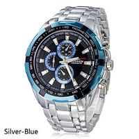 Curren 8023 quartz steel precision inveted Vogue Business Mens Quartz watches with 3ATM waterproof Dropship relogio