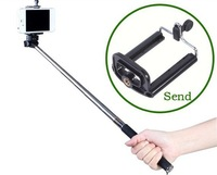2014 NEW Extendable Self Photo Monopod Handheld Camera Holder for GoPro Hero 2 3,phone,for iphone free shipping wholesale