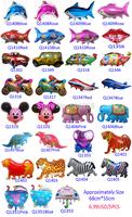 wholesale 5pcs/lot balloons aluminium 68*55cm party supplies balloon  More than 31design choose Free shipping