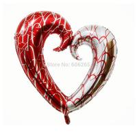 wholesale 5pcs/lot balloons aluminium 110*100cm party supplies balloon Free shipping