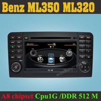 Car DVD Player radio GPS Mercedes for Benz GL class ML class ML320 ML350 + 3G WIFI Internet + 1GB cpu + DDR 512M RAM