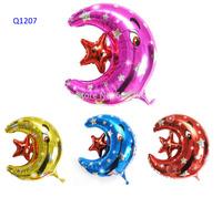 wholesale 5pcs/lot balloons aluminium 55*55cm party supplies balloon  More than 4design choose Free shipping