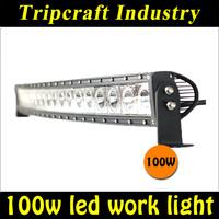 New Arrival,Single Row LED Cree 100W LED Light bar IP67 4X4 SUV LED Work Lightbar Truck,LED offroad Driving Fog Lamp 6PCS/LOT