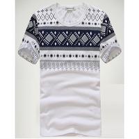 2014 New Summer Korean Fashion Casual Designer Short Sleeve Cotton Men's T Shirts Plus Size M-XXL