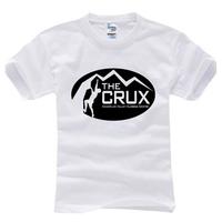 2014 summer famous sport brand  crux T Shirt cotton sport  t-shirt man top tee casual man short sleeve plus size
