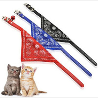New 2014 Fashion Adjustable Pet Scarf Collar/Lovely Small Triangle Bandana Cat Scarf Collar