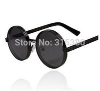 vintage circle metal sunglasses fashion sun glasses star style sunglasses