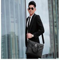 Bestselling !Free Shipping Howe kangaroo male fashion business casual handbag messenger bag for man wholesale or retail: 9210