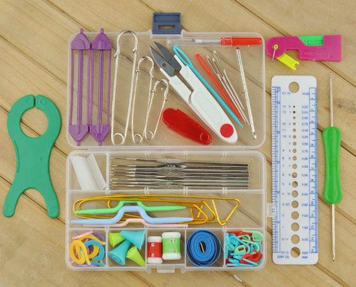 Knitting tools Auxiliary tools / knitting needles / crochet / Magic ...