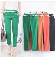 Womens pants 2014 Autumn OL Office Elastic Slim Pencil Pants. Pantalones Mujer Plus Size XXL Trousers