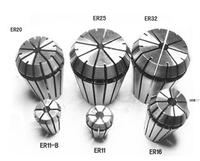 Precision Spring Collet, ER fixture CNC engraving machine, CNC Milling Lathe Tool and Spindle Motor  ER25/ ER32