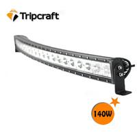 New 140W CREE LED Work Light Bar 12V IP67 Flood Spot Combo For 4WD 4x4 Off road LED Light Bar TRUCK BOAT TRAIN 2PCS/LOT