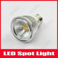 5W Dimmable COB LED Lamp Spotlight E27 Bulb Lights AC 220V 110V Warm White Cool White For Home Bar,10pcs/Lot ,Free Shipping