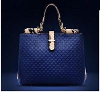 Free Shipping Fashion Women Handbag Genuine Leather 2014 Designer Handbags High Quality Women Leather Handbags Women Tote Female