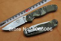 Free shipping Ontario OKC RAT-3 8868 enhanced stone washed version AUS-8 Blade Full flat G10 handle multi-colour Folding Knife