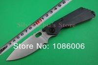 Free shipping Mick Strider G10+Titanium Alloy handle D2 Blade Folding Knife