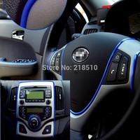 5M Car Auto Decoration Car Sticker Thread, indoor pater,Car Interior Exterior Body Modify Decal 7 Colors Drop Shipping 1pc